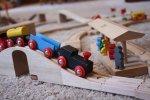zabawki z drewna